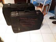 2 Textil Roll-Koffer Koffer-Set SKY