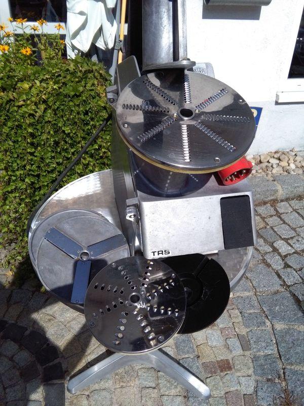 Professionelle Küchen-Schneide-Reibe- Maschine