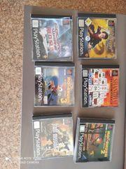 Verkaufe 6 Spiele für Play