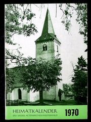 Heimat-Kalender Kreis Altenkirchen von 1970