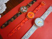 3 Swatch Uhren 90 er