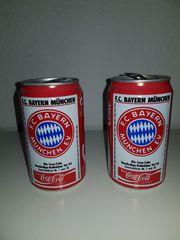 Bayern Münschen Coladosen 2x