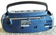 Kleines blaues Cassettenradio Fa ALBA