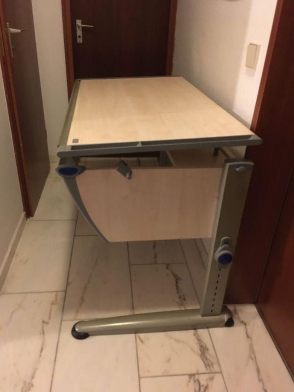 Moll Schreibtisch mit Container ab