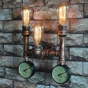 Wandleuchte Vintage Retro Eisenrohr Wandlampe