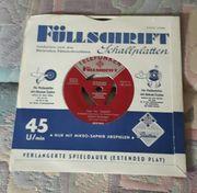 VinylLp Schallplatte 7 Füllschrift SchallplattenMax