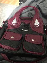 Lederhandtasche Umhängetasche