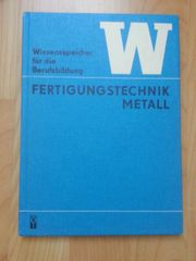 Lehrbuch Fertigungstechnik Metall