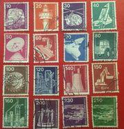 Briefmarken Deutsche Bundespost 1975-1982