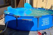 Pool 305x76 cm rund