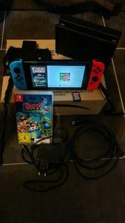 Nintendo Switch-Konsole 2 Spiele Zustand
