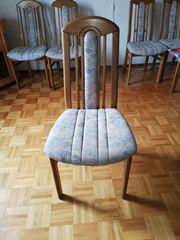 Esszimmertisch mit 8 Stühlen zu