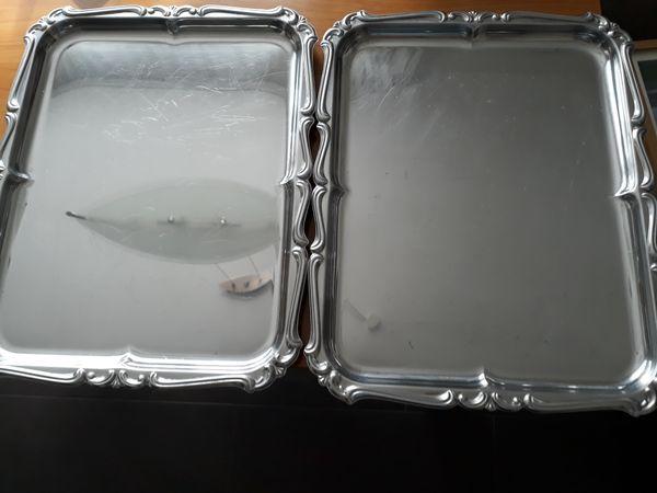 2 Servierplatten