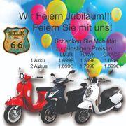 Elektro Moped Jubiläumsangebot