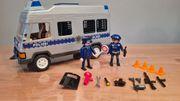 Playmobil Polizeimannschaftswagen