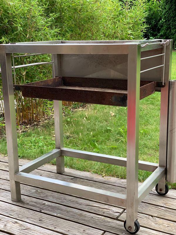 k60 Grillroste - Edelstahlgrill Maßanfertigung Holzkohle