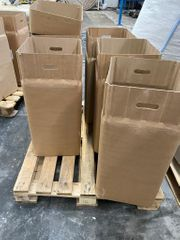 Kartonverpackung quaderförmig und einmalig