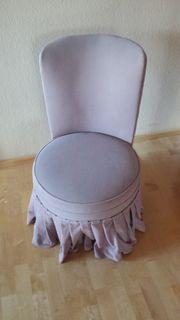 Sessel gepolstert aus Naturholz