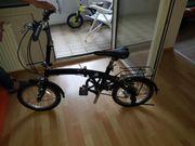1 Klapp Fahrrad 16 Zoll