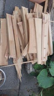 Brennholz schon klein gemacht