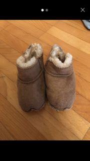 Baby Schuhe Lammfell