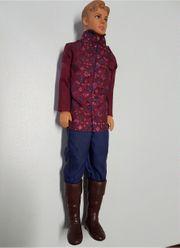 Barbie Ken als Prinz