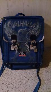 4YOU Schulrucksack Schulranzen blau VALHALLA