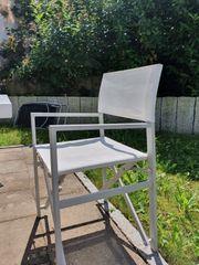 Gartenstühle weiß