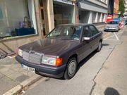 Mercedes 190 gepflegt
