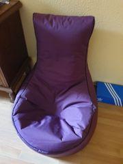 Sitzsack lila