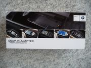 BMW - Snap-in-Adapter für Samsung Galaxy