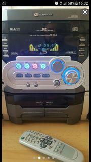 Stereoanlage mit Kassetten - CD Wechsler -