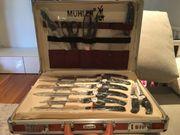 Messerset mit Koffer