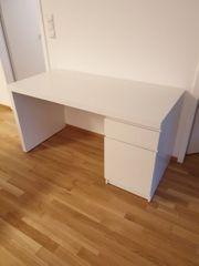 Neuer Schreibtisch Ikea Malm