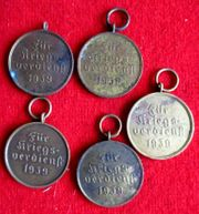 5 x Orden Medaille zum