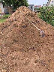 Mutterboden Gartenerde zu verschenken