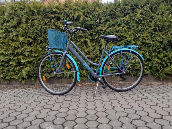 Fahrrad 28 Zoll mit Korb