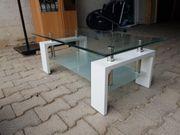 Glastisch weiß Glasplatten