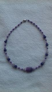 4 Halsketten - Modeschmuck