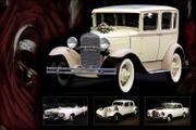 Oldtimer Cadillac Cabrio Stretchlimousine als