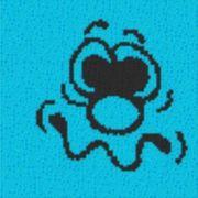 Vorlage für Ministeck Smiley8 40x40cm
