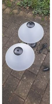 2 Tischlampen Neuwertig