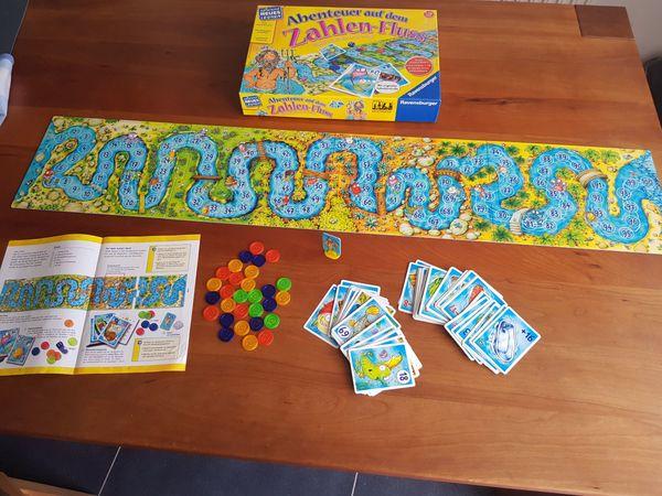 Ravensburger Abenteuer auf dem Zahlen-Fluss