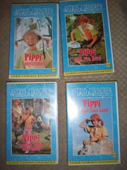 4 VHS Video Pippi Langstrumpf