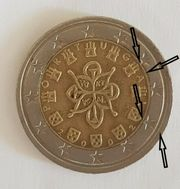 2 Euro Münze Portugal 2002