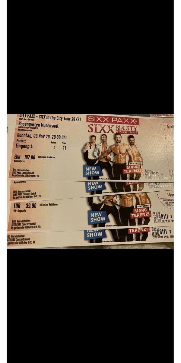 Sixxpaxx Karten für in Mannheim