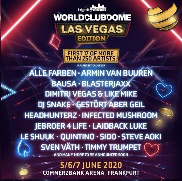 World Club Dome Festival Tickets
