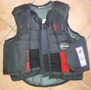 Reit-Sicherheitsweste für Kinder Rückenprotektor Loesdau