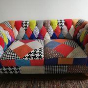 2- Sitzer- Sofa Patchwork