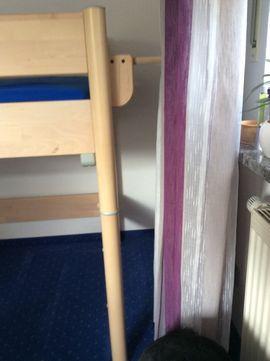 Kinder-/Jugendzimmer - Hochbett Spielbett mit Rutsche von